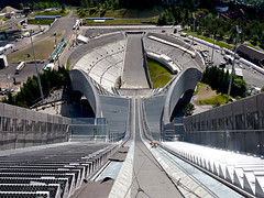 The world's most modern ski jump