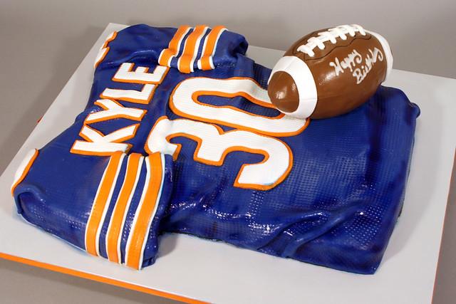 Chicago Bears Birthday Cake Ideas