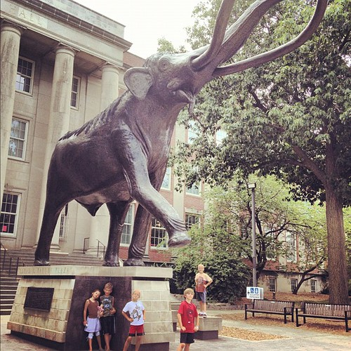 July Photo A Day: Day 9: Big. Today we drove to Lincoln to visit Morrill Hall with some good friends. Awesome day!!