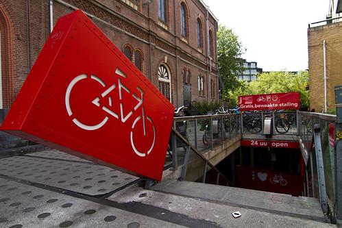 Custodia de bicicletas en Amsterdam