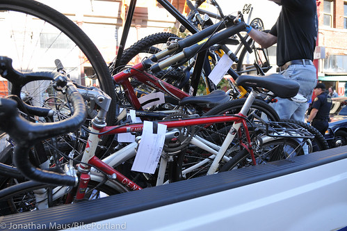 Stolen bikes at drug bust in Old Town-2