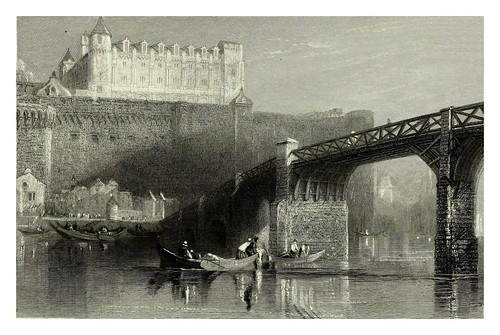004a- Castillo de Amboise-Wanderings by the Loire- 1833- J. M. W. Turner