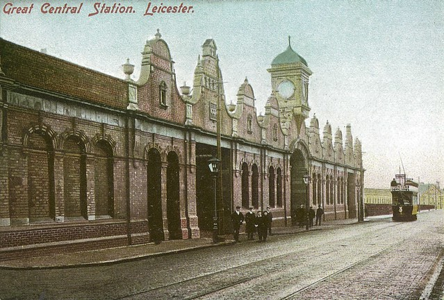 Then Leicester Great Central Station Circa 1904 Flickr
