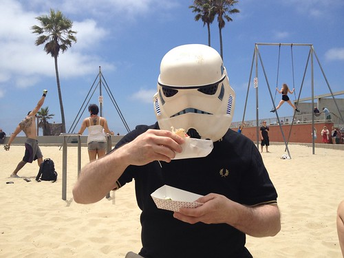 Fish Tacos on Venice Beach