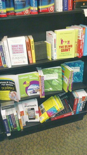 Computer books at Waterstones