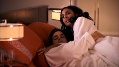 Neal and Agent Barrigan in bed
