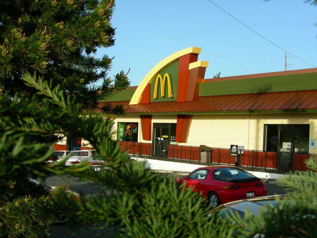 Mcdonald restaurants brand design restaurant design for Exterior design of restaurant