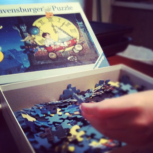 Puzzle day.