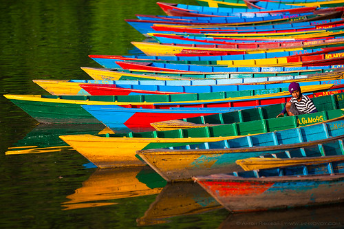 Colorful Moorage