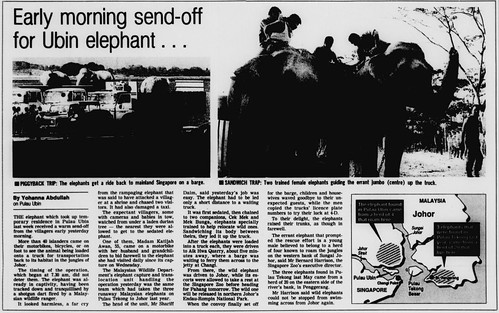 The Straits Times 10 March 1991
