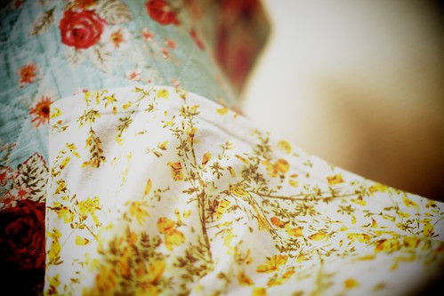 17.07.12 :: Cream Cable Tights, A Pretty @hmunitedkingdom Yellow Floral Sundress, & @warestyle metallic gold foil cardigan to brighten up my day #fashion #style #whattowear #blogger #highstreet #photo .