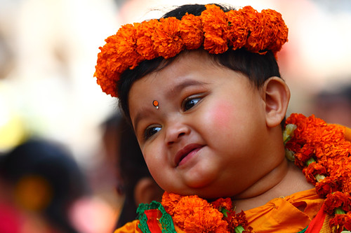 The Kid of Basanta Festival
