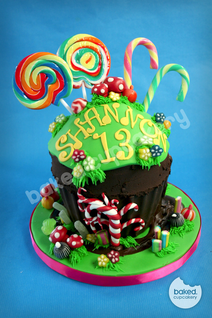 Charlie Chocolate Factory Cake