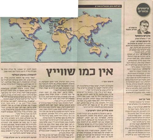 בארי בן זאב - Barry Ben Zeev - 23/08/2004 - גלובס