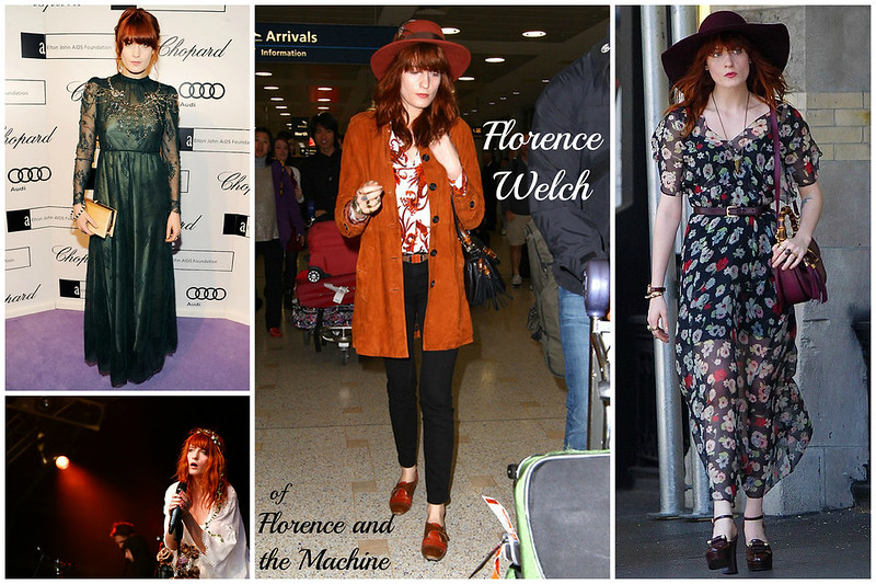 Florence Welch collage