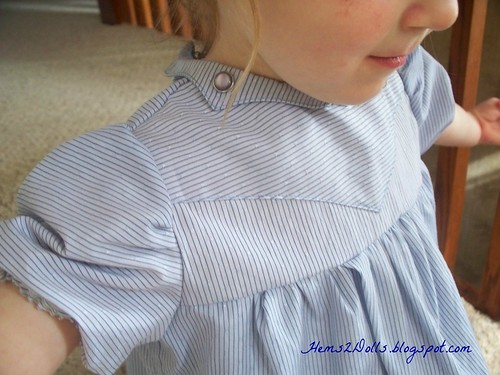 B's Grandpa Dress front bodice