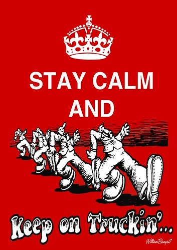 STAY CALM AND by Colonel Flick