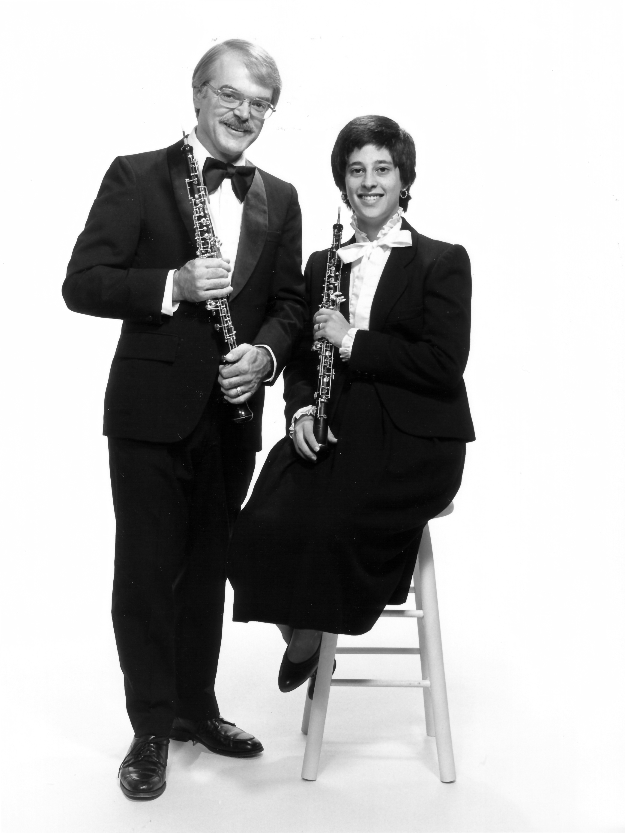 321. Chick & Nancy with oboes-L3