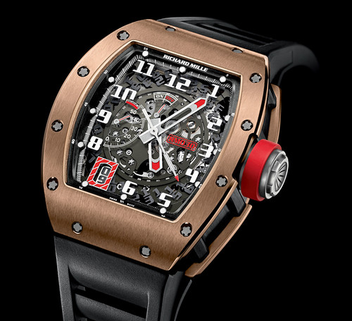 Richard Mille RM030 Black Out and Black Rose is exclusive to the U.S.