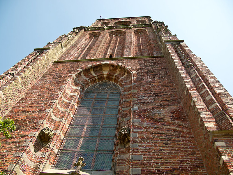 The church tower of Ransdorp