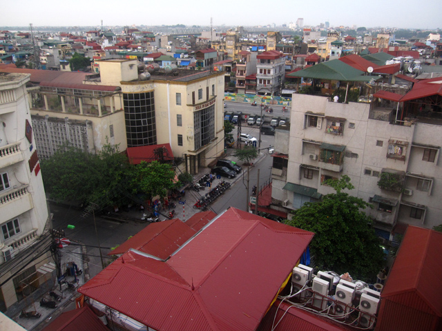 View of Hanoi, Vietnam