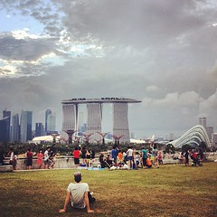 The ever changing skyline of Singapore!