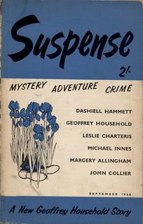 Suspense september 1958 volume 1 nr. 2