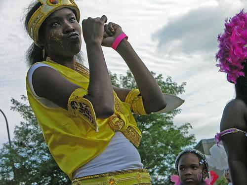 Carifest 2012 yellow girl 1