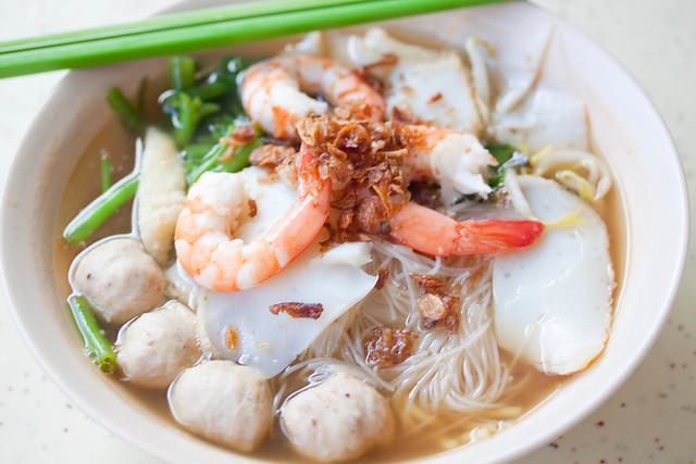 Prawn Noodles Soup