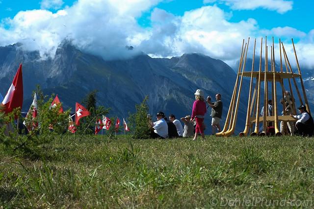 Nendaz Alphorn Festival
