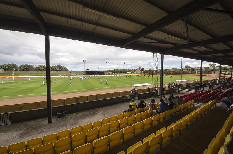Berwick Rangers v Queens Park at Shielfield Park