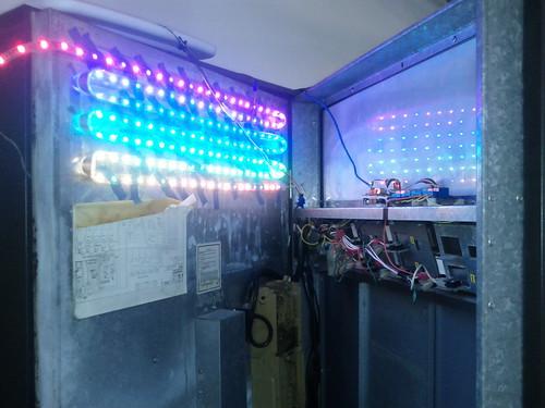 Vending machine RGB test