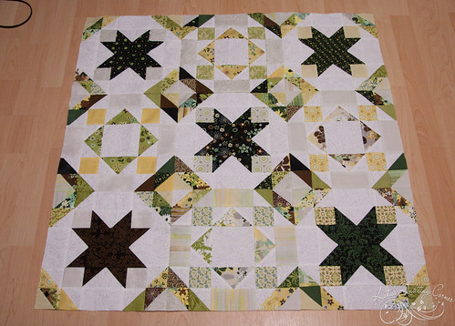 Origins by Basic Grey - quilt unnamed right now. waiting on border