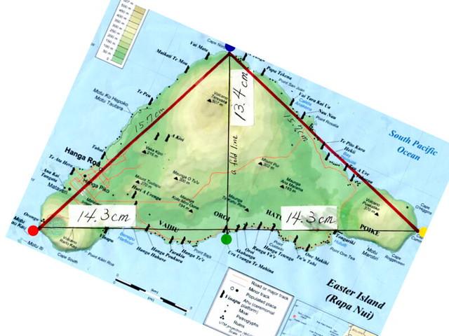 イースター島とピラミッド