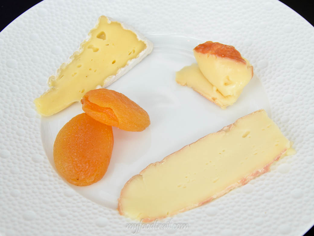 Joel Robuchon au Dome, Macau - Dessert cheese platter
