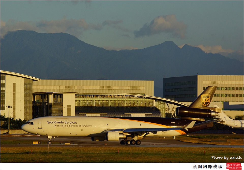 United Parcel Service - UPS / N296UP / Taiwan Taoyuan International Airport