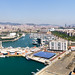 Barcelona Marina Panorama by Marc Rauw.