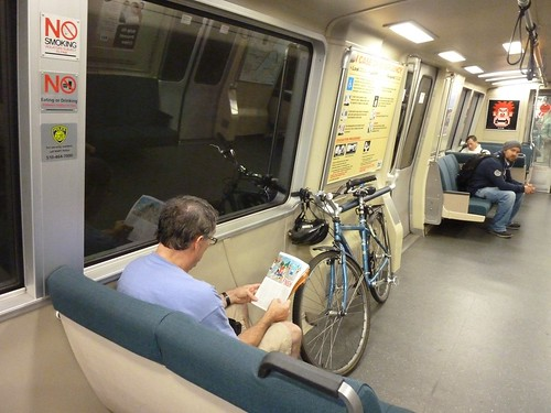 Bikes on Bart Pilot Aug. 3, 2012