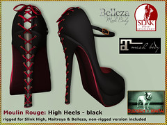 Bliensen - Moulin Rouge - High Heels