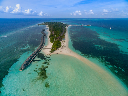 Maledives aerial
