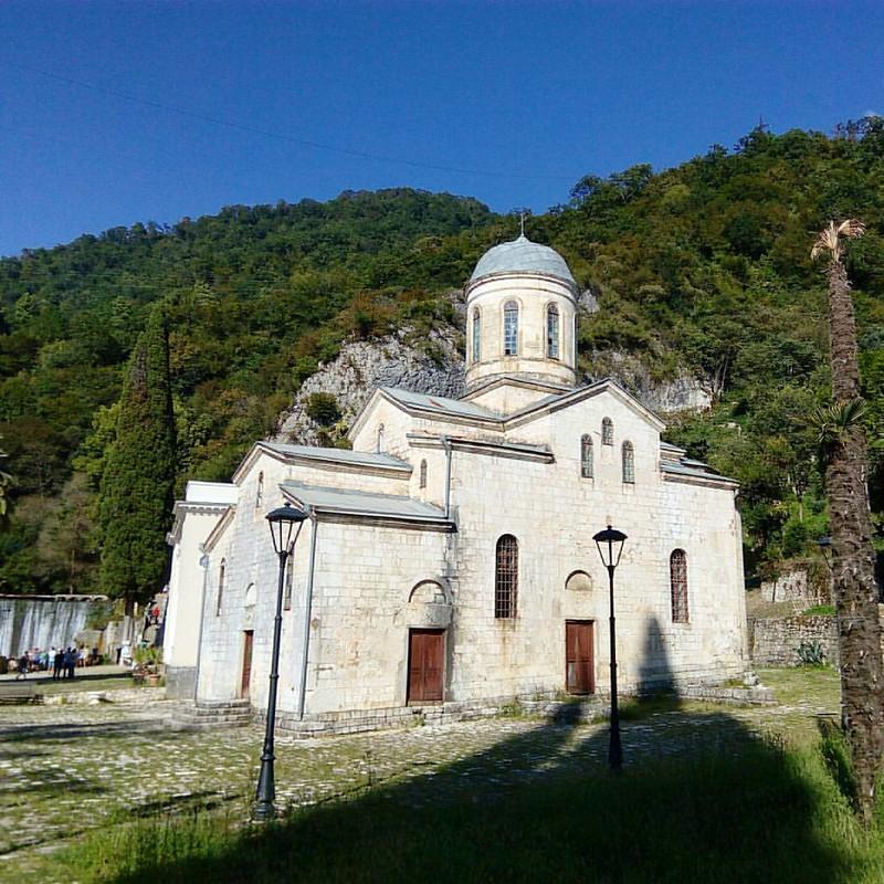 Спонтанное путешествие в Новый Афон. Абхазия