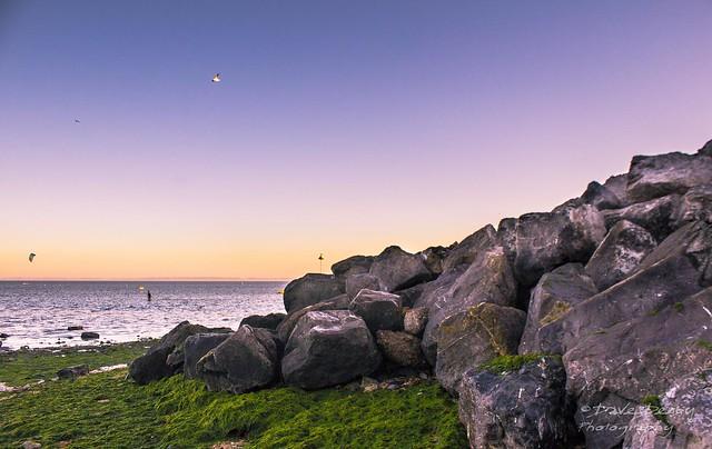 Rocks on East Beach