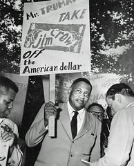 Robeson - Take Jim Crow off the American dollar: 1949