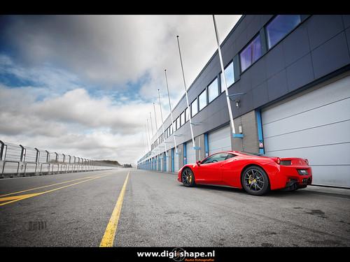 458 Italia at TT Circuit Assen by terpstra.peter