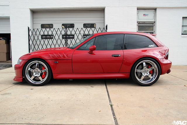 2002 M Coupe | Imola Red | Black | 700+ HP