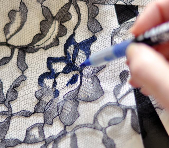 DIY floral jeans-4-1