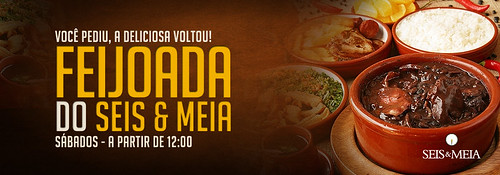 Banner Feijoada - Seis & Meia by chambe.com.br