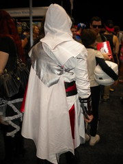 'Keep calm and don't stab that little kid.'   Ezio from Assassin's Creed Brotherhood.