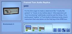 Framed Tom Audio Replica