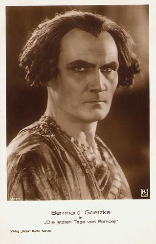Bernhard Goetzke in Gli ultimi giorni di Pompei (1926)